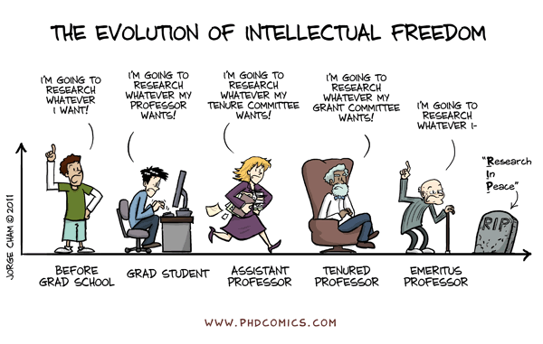 The Evolution of a PhD